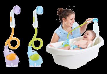以色列Yookidoo戲水玩具-小象蓮蓬頭
