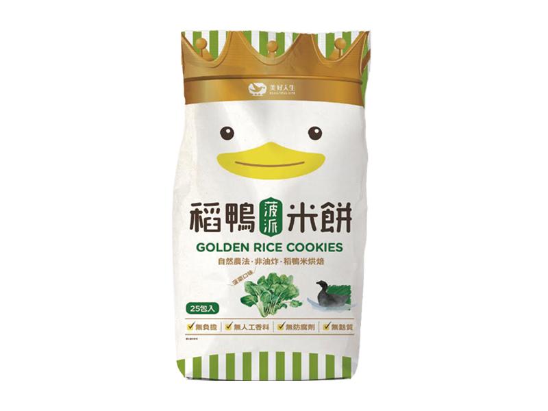 稻鴨米餅(菠菜)75g/包