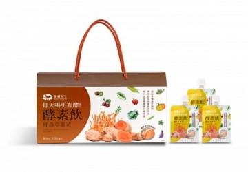蛹蟲草薑黃雙專利酵素飲80ml (24包/盒)