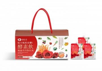 蛹蟲草四物玫瑰雙專利酵素飲80ml(24包/盒)