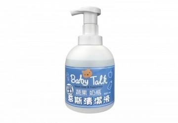 BABY TALK蔬果奶瓶慕斯清潔液500ml
