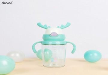 duvall Tritan麋鹿兒童涼水壺(綠色)
