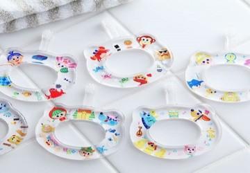 日本製hamico卡通合作款寶寶乳齒牙刷