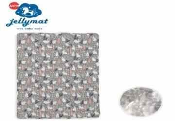 【韓國Jellymat】微顆粒酷涼珠有機棉果凍床墊/棉花糖兔兔