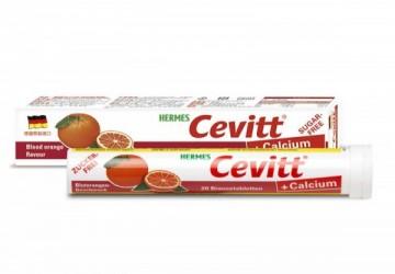 【愛美仕】 維生素C+鈣 專利發泡錠 (20錠) 柳橙口味