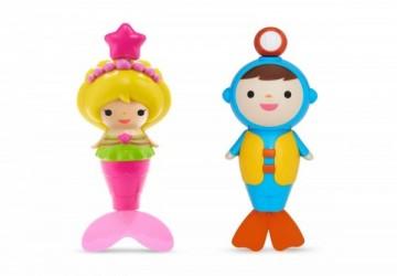 Munchkin 美人魚/潛水員游泳洗澡玩具
