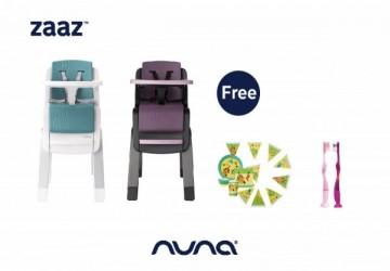 Nuna ZAAZ高腳餐椅
