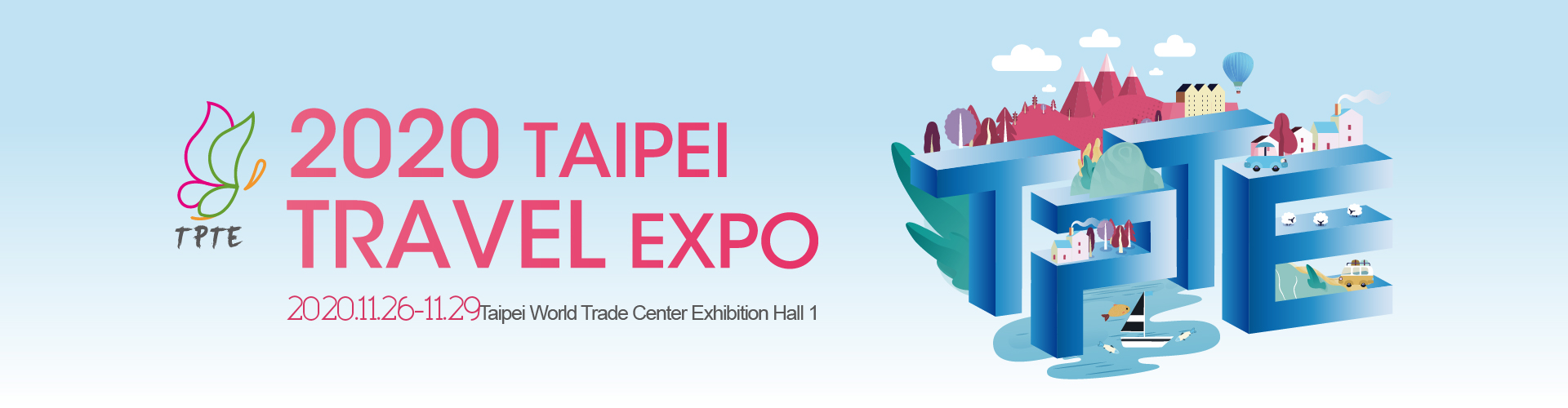 2020 Taipei Travel Exposition (TPTE)