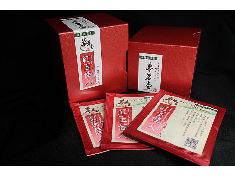 【奉茗堂】紅玉佳人立體茶包