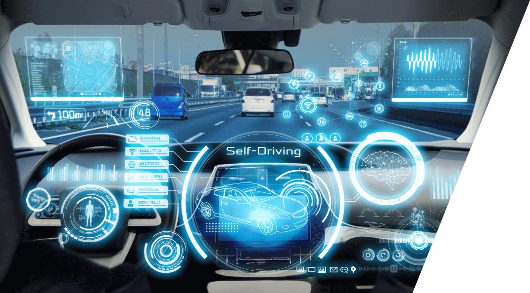 Ai未來概念車 隨著物聯網(IoT)的發展,概念車款將衍生許多創新應用,像是『自動駕駛、物體偵測、聲控助理、人臉辨識…等』提供大家全新驚艷體驗。