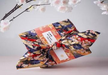 花錦織十品風呂敷手工喜餅禮盒