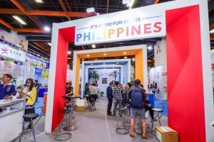 菲律賓觀光部 攤位