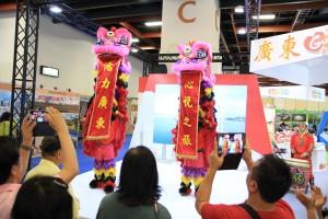 廣東舞獅 熱情開幕